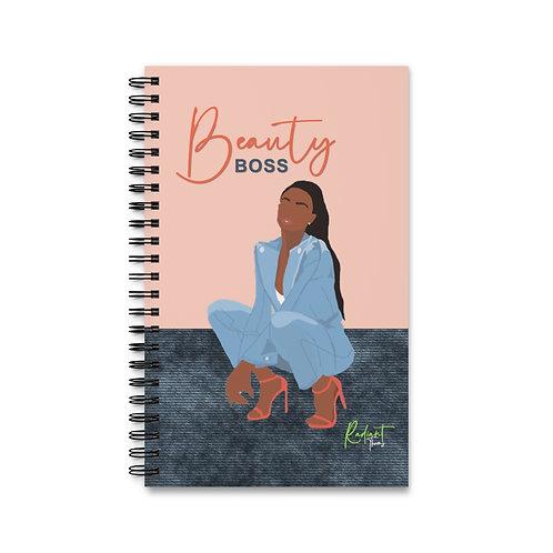 Beauty Boss Spiral Journal