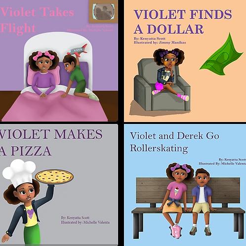 Four (4) Book Bundle