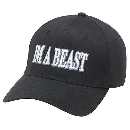 Im A Beast - Flexfit Cap (Black)