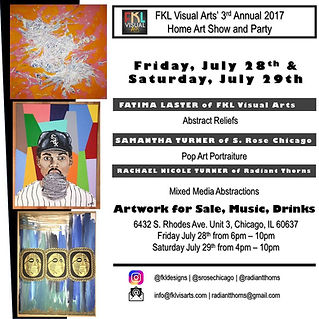 3rd Annual FKL Visual Arts Home Art Show