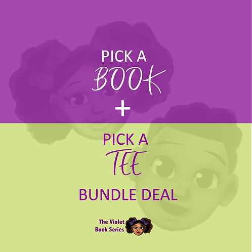 Book + Tee Bundle Deal