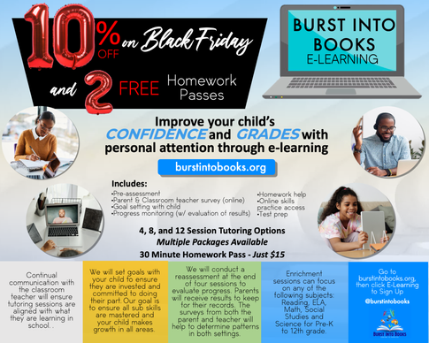 E-Learning from Burst Into Books