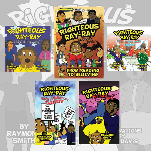Righteous Ray-Ray 5 Book Bundle