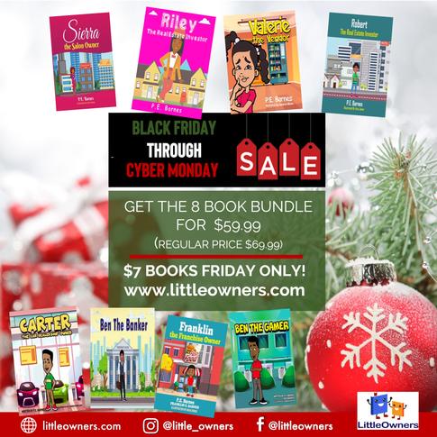 Entrepreneurial Books for Children from Little Owners