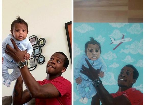 Dad & Son Portrait