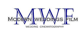 Logo for Modern Weddings Film video business