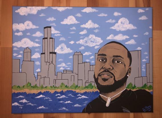 Portrait with Custom Background