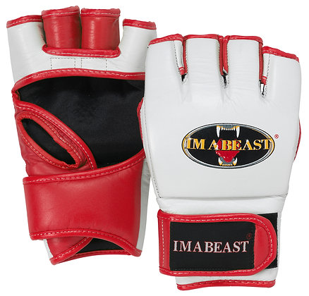 Im A Beast - MMA Gloves (Red)
