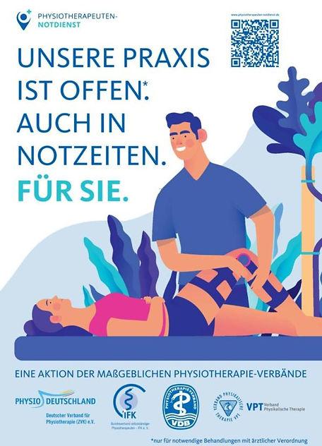 Physiotherapeuten-Notdienst-Plakat-A3-Ku