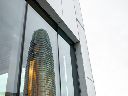salesforce tower reflection