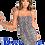 Thumbnail: Charming Snakeskin Design Sling Bodycon Dress