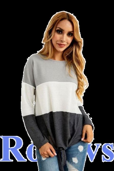 Loose striped Cotton Women t shirt Casual Blouse Designs