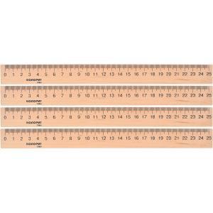 Лінійка дерев'яна (25 см.)