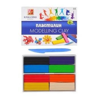 """Пластилін """"Класика"""" 8 кольорів"""