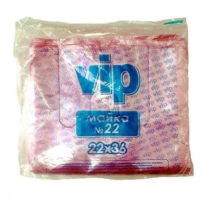 Пакет-майка для харчових продуктів, vip, 22 * 36