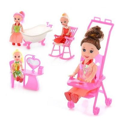Лялька 9905-86-88 B, меблі