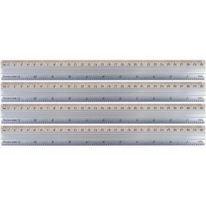 Лінійка алюмінієва (30 см.)