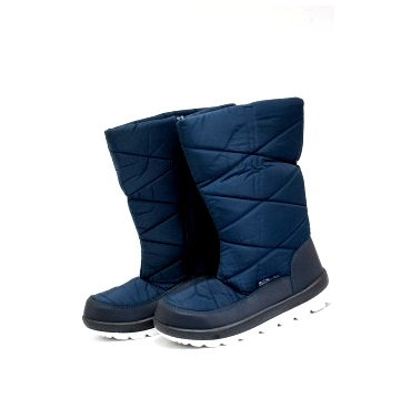 Дутіки жіночі Д07 темно сині