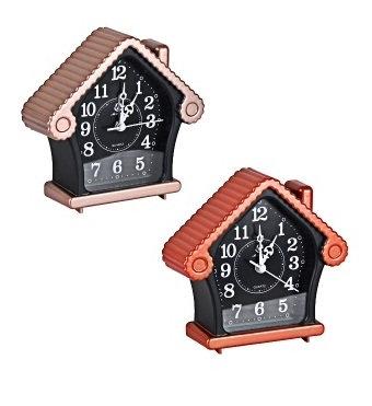 """Настільний годинник - будильник """"Будиночок"""" 875"""