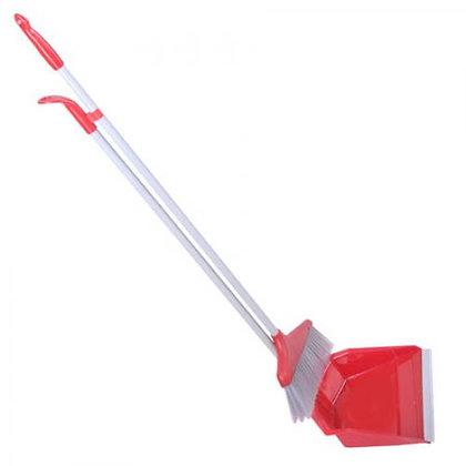 Набір для прибирання (мітла + совок) R15418