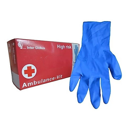 Рукавиці латексні «Ambulance-Vit» S