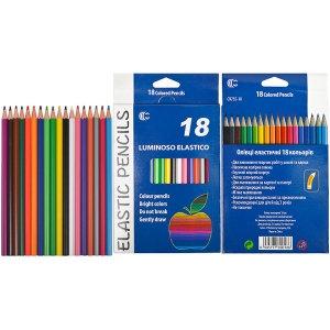 Олівець кольоровий Luminoso Elastico «С» 18 кольорів
