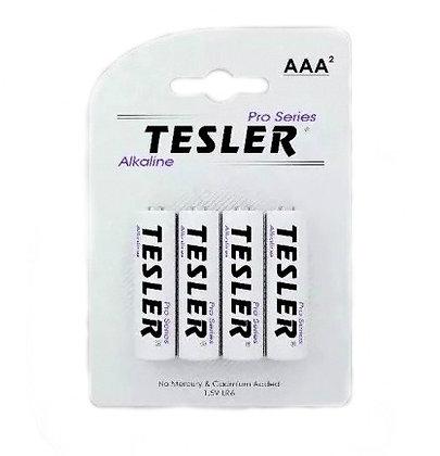 """Батарейка """"Tesler Alkaline"""" міні пальчик ААА LR03-4"""