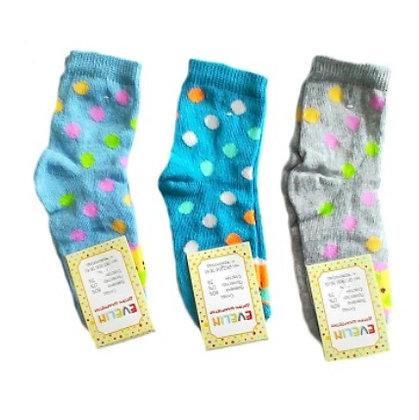 """Шкарпетки дитячі """"Евелін"""", дівчинка, 20 розмір"""