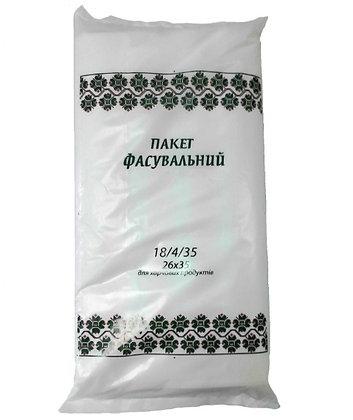 """Пакет для фасування """"Зелений орнамент"""", 18 * 35"""