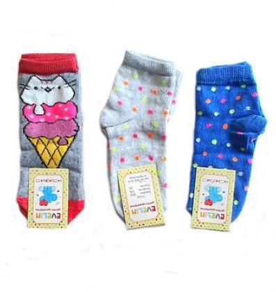"""Шкарпетки дитячі """"Евелін"""", дівчинка, 16 розмір"""