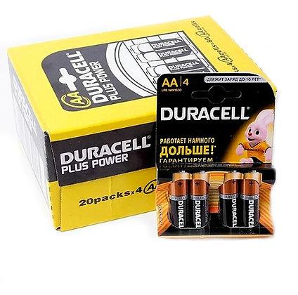 Батарейка Duracell R6 пальчик АА