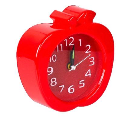 """Настільний годинник - будильник """"Яблуко"""" 666"""