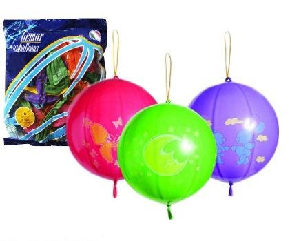 """Кулька повітряна """"Кавун"""" зі шнурком"""