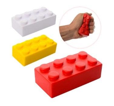 """Конструктор прямокутний """"Лего"""" MS 0805 (Сквіші, фомовий)"""