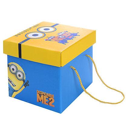 """Коробка подарункова паперова """"Minions"""" N00283"""