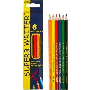 """Олівець кольоровий """"Marco"""" 6 кольорів"""
