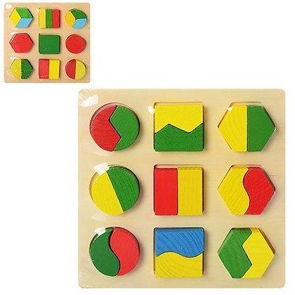 Дерев'яна іграшка Геометрика MD 0716