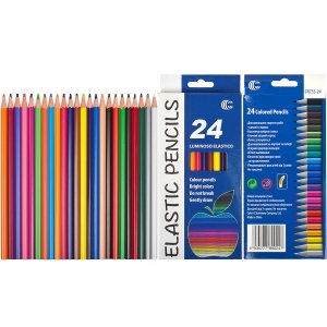 Олівець кольоровий Luminoso Elastico «С» 24 кольори