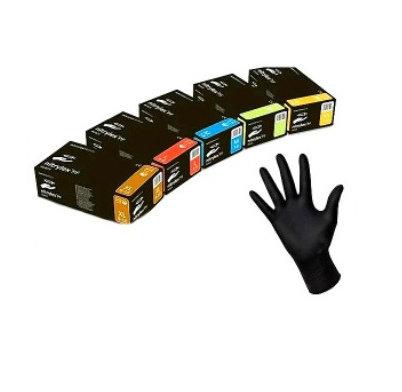 """Рукавиці нітрилові """"Super Qloves"""" чорні M"""