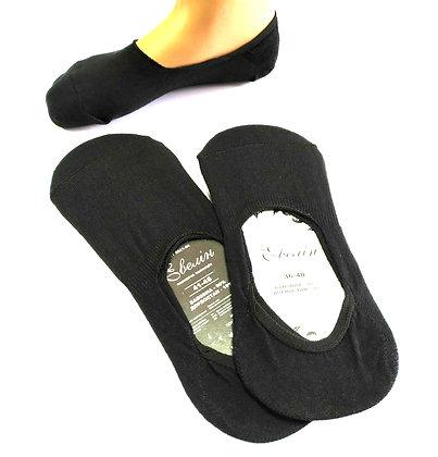 """Шкарпетки сліди """"Евелін"""", 36-40 р. (Чорні)"""