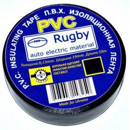 """Ізолента """"Rugby РVС"""" чорна 10 м."""