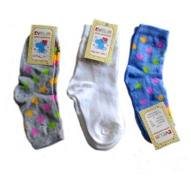 """Шкарпетки дитячі """"Евелін"""", дівчинка, 14 розмір"""