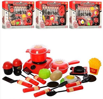 Посуд 838A-2-3-4-5 електроплита, продукти, кухонне приладдя