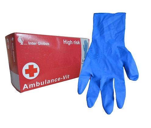 Рукавиці латексні «Ambulance-Vit» M