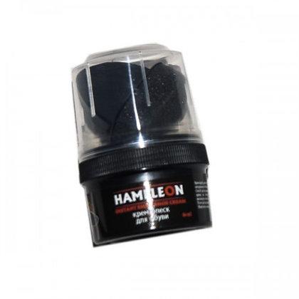 "Крем-блиск для взуття ""Хамелеон"" (Hameleon) 60 мл чорний"