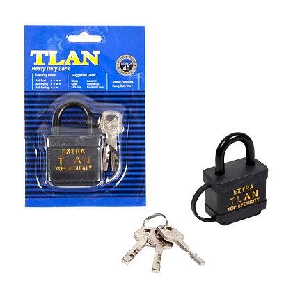 Замок навісний «TLAN» Extra 40 мм з гумовою кришкою 13308-5