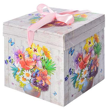 """Коробка подарункова паперова """"Літо"""" N00383"""