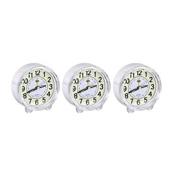 """Настільний годинник - будильник """"Коло"""" з підсвічуванням 903"""