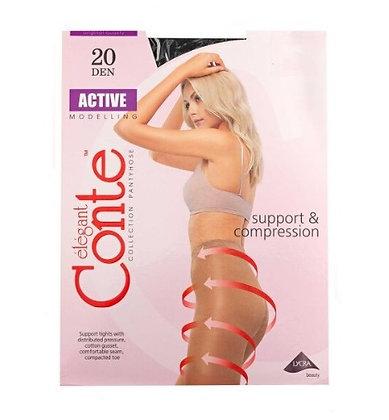Колготки Conte Active 20 Den nero ( розмір 3)