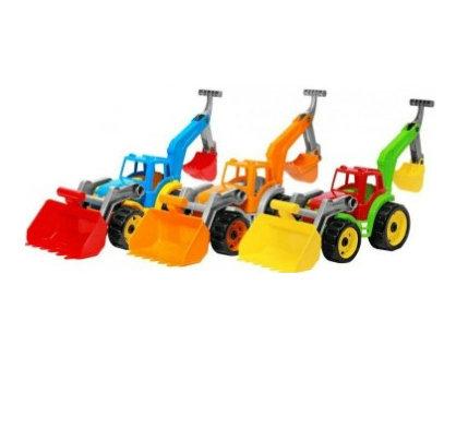 """Іграшка 3671-ТН Трактор з двома ковшами """"Технок"""""""